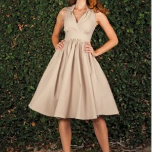 Stop Staring! Nyla Swing Dress NYLAD-01 Pinup 50's